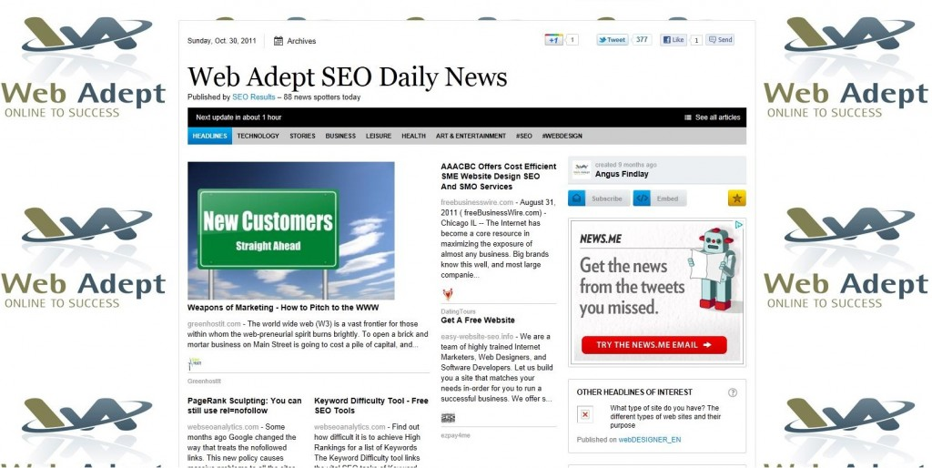 SEO News, South Wales, Pembrokeshire, Search Marketing, Search engine marketing