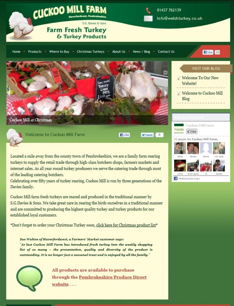 welshturkey.co.uk - Best Happy Turkeys in Pembrokeshire, South Wales, UK