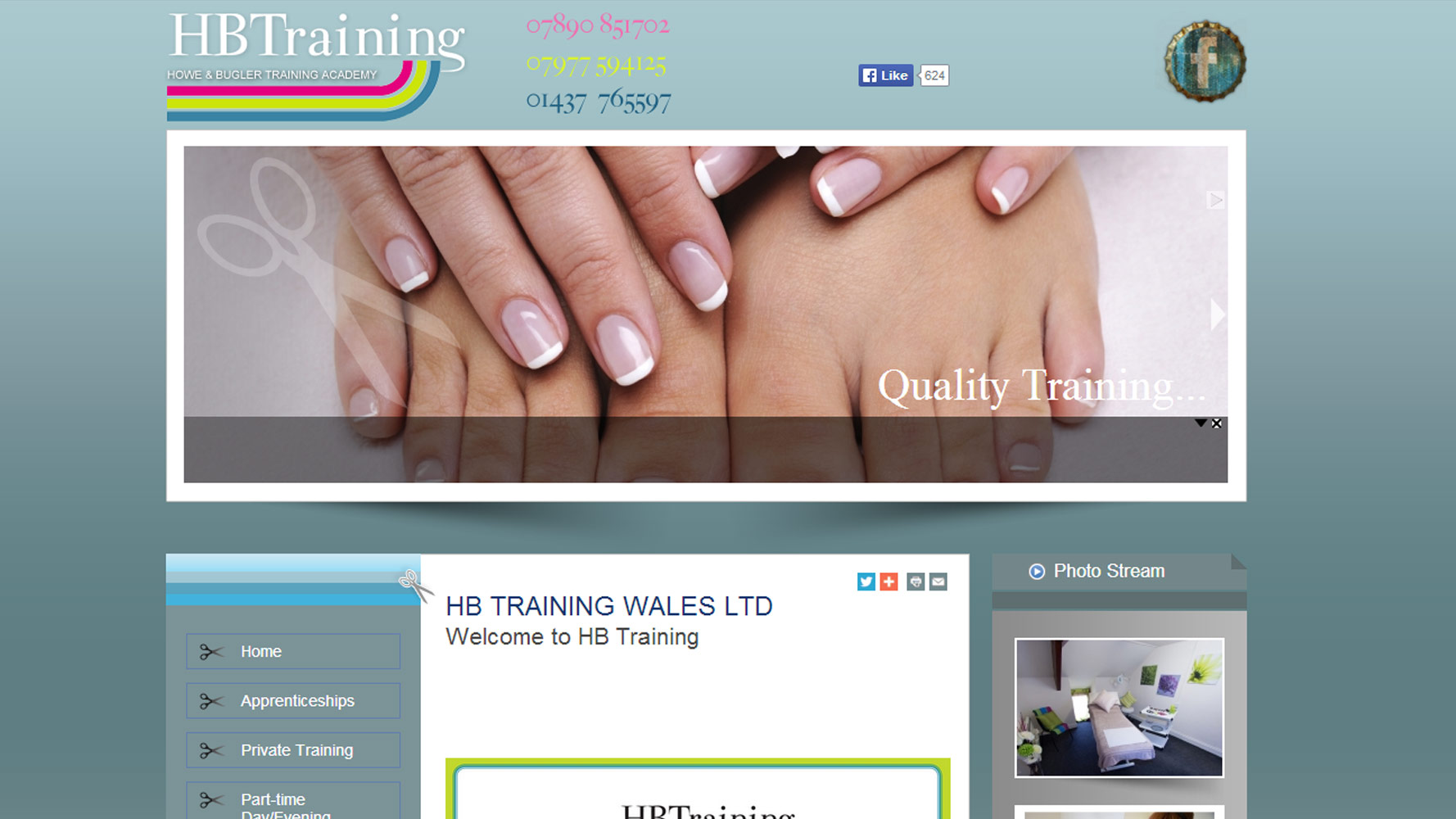 HB Training Web Design by Web Adept