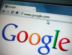 Google Homepage on Web Adept's Online Marketing Blog