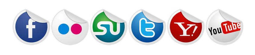 social media icons, online marketing