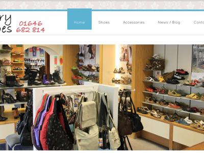 Parry Shoes Web Adept Web Development