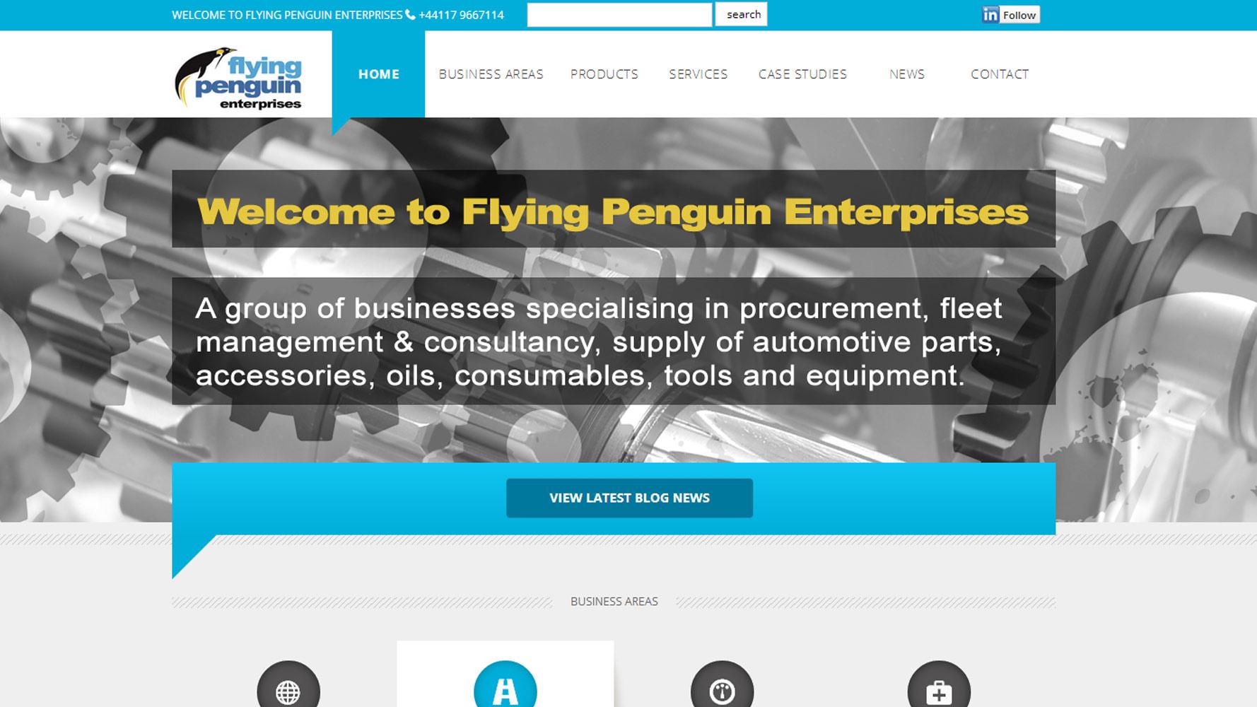web adept web design FP Autoparts