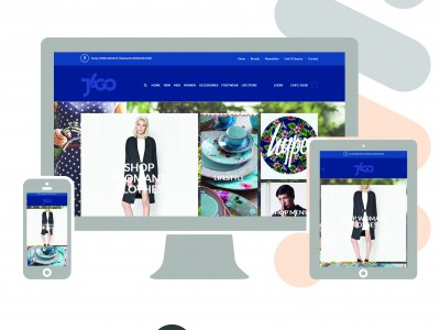 E-commerce example website
