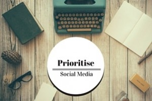 Prioritising Social Media to get noticed