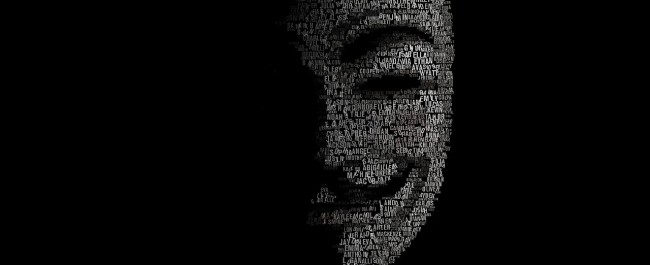 Anonymous hacking group image