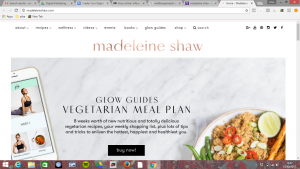 Madeleine Shaw is a food blogger and influencer